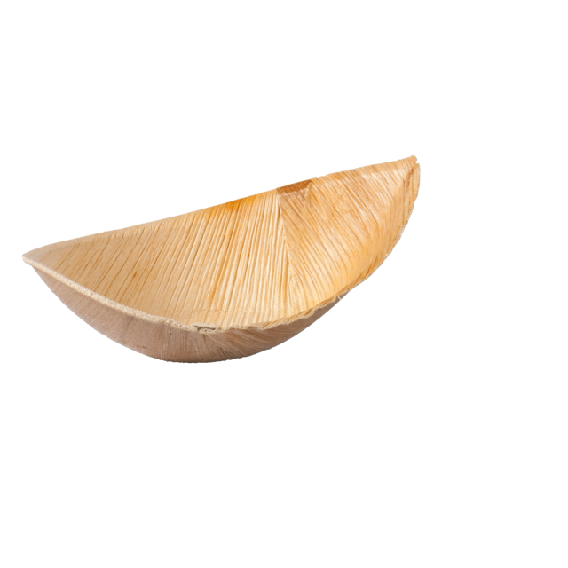 Biodore® Bowl, palm frond, 11x6cm, natural 1