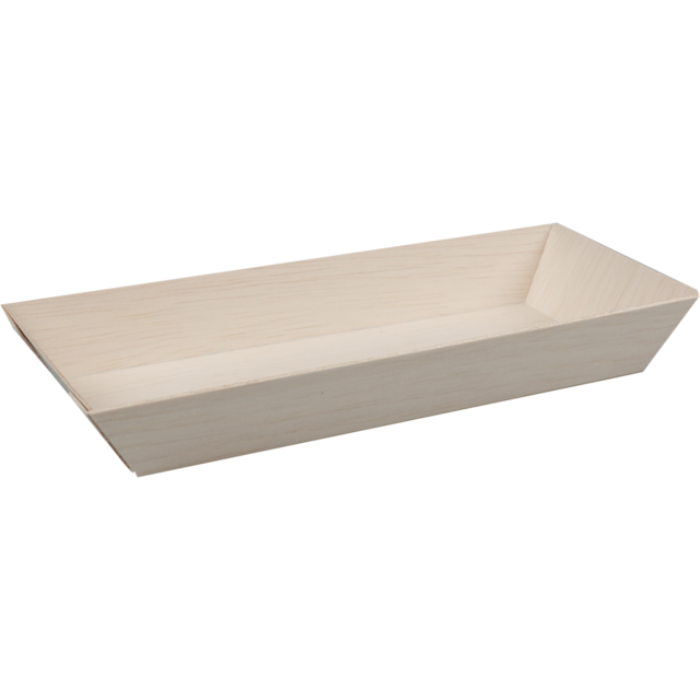 Biodore® Bowl, Falcata wood, rectangular, 215x85x28mm, natural 1