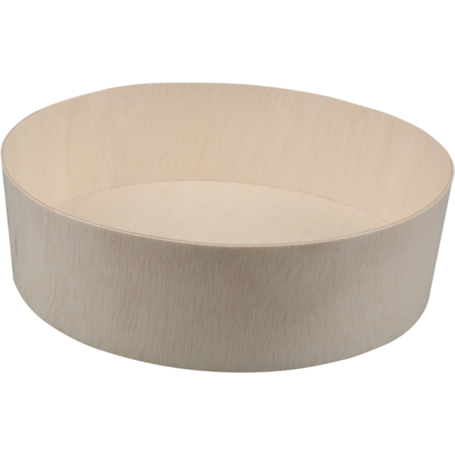 Biodore® Container, Falcata wood, Ø155mm, 45mm, natural 1