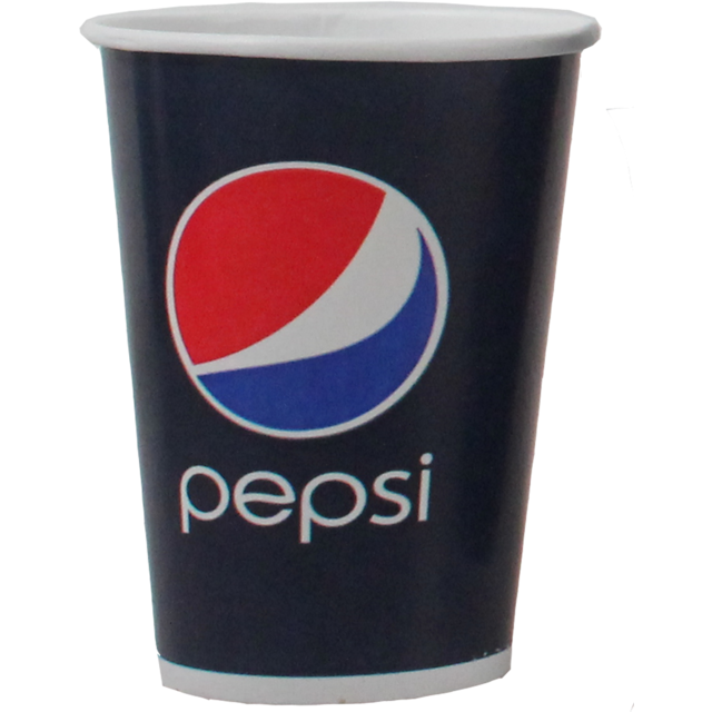 Pepsi, Cold cup, Karton/Coating, 500ml, 22oz, 168mm, blue/Red 1
