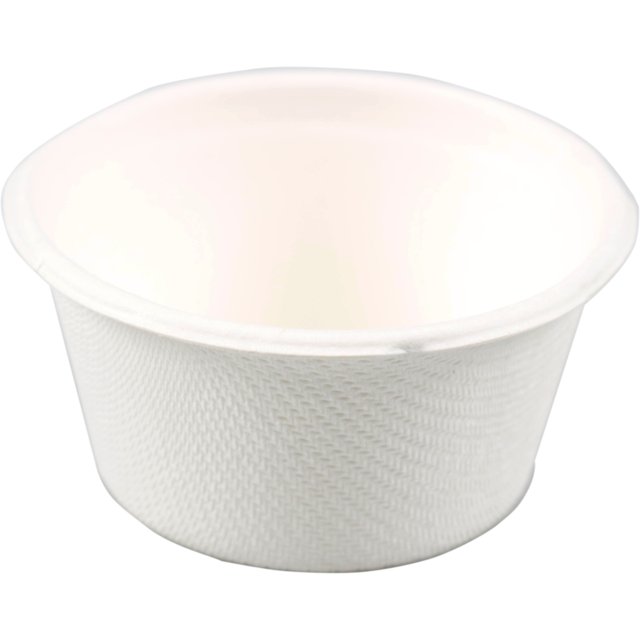 Cup, Saus cup, Bagasse, 55ml,  1