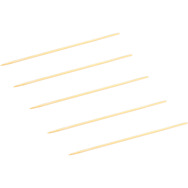 Biodore® Cocktail sticks, satay skewer, Bamboo, 180mm, natural 1