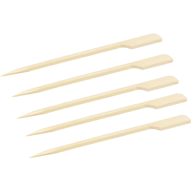 Biodore® Cocktail sticks, cocktail stick, Teppo Skewer, Bamboo, 150mm, natural 1