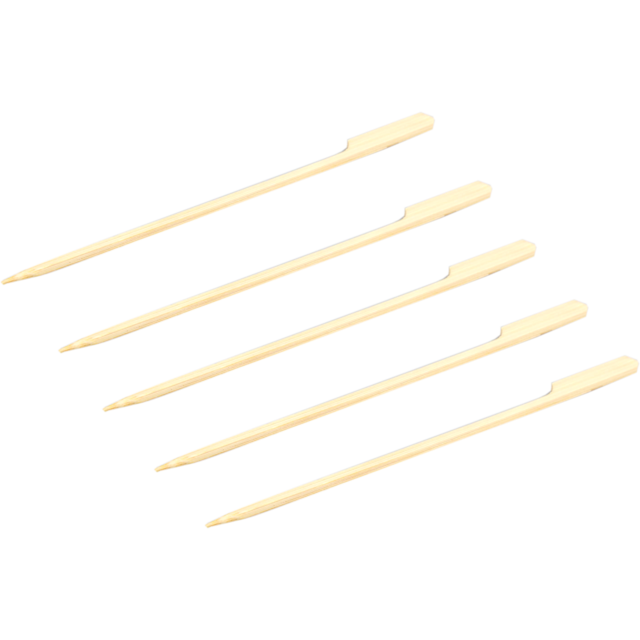 Biodore® Cocktail sticks, cocktail stick, Teppo Skewer, Bamboo, 180mm, natural 1