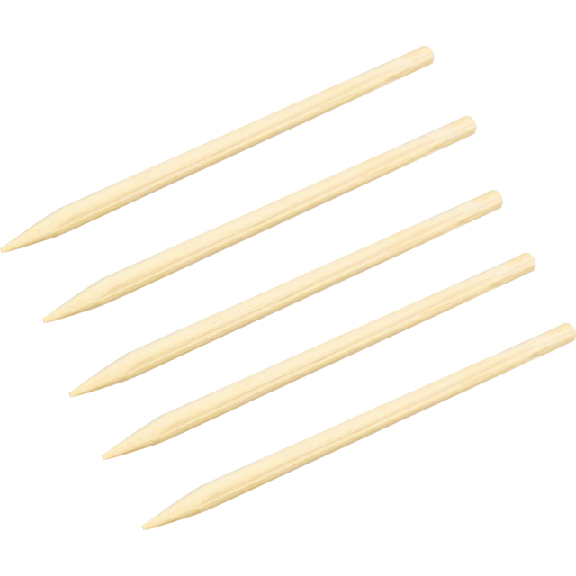 Biodore® Cocktail sticks, corn on the cob skewer, Bamboo, 120mm, natural 1
