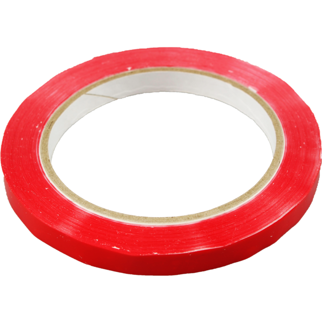 Tape, PP, 9mm, 66m, red 1