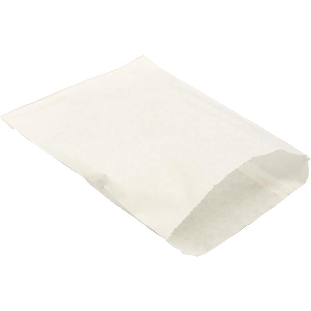 Bag, Snack bag, Greaseproof, 5x4inch, white 1
