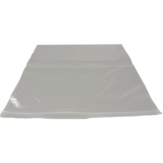 Bag, Rib-seal bag, LDPE, 10x14inch, 50my, transparent 1