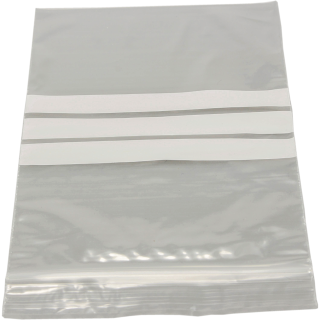 Bag, Rib-seal bag, lDPE, 50my, transparent 1