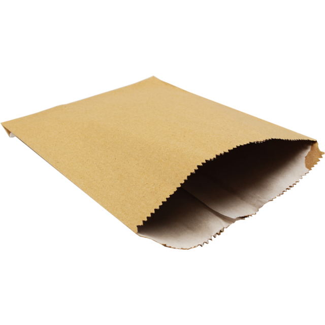 Bag, Paper, 9x7inch, brown  1