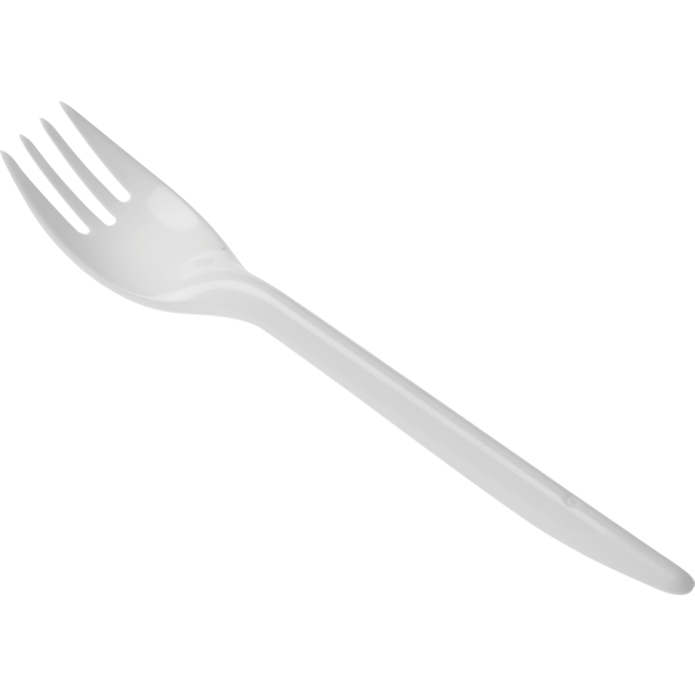 Fork, PS, 160mm, white 1