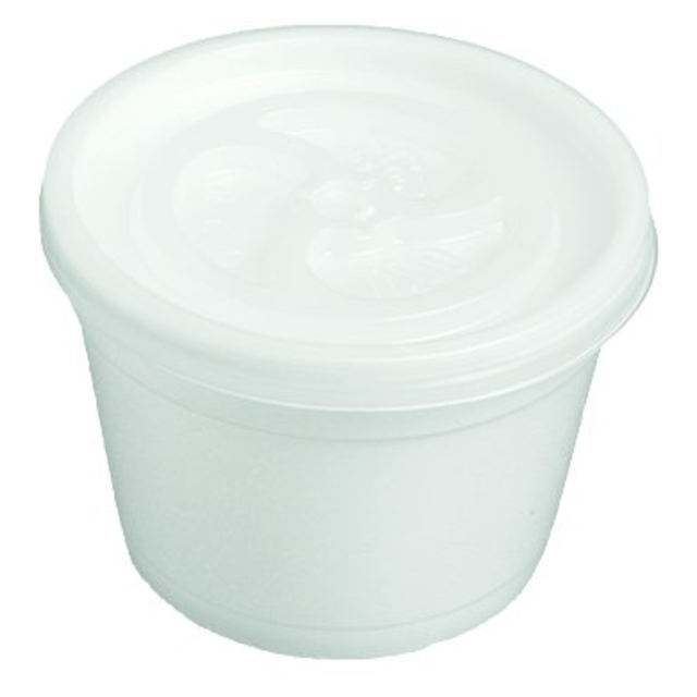 Tub, PS, white 1