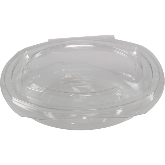 Container, APET, 650ml, salad container, 7x6x1.75inch, transparent 1
