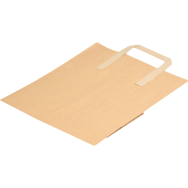 Bag, Paper, 25x380x305mm, paper carrier bag, brown  1