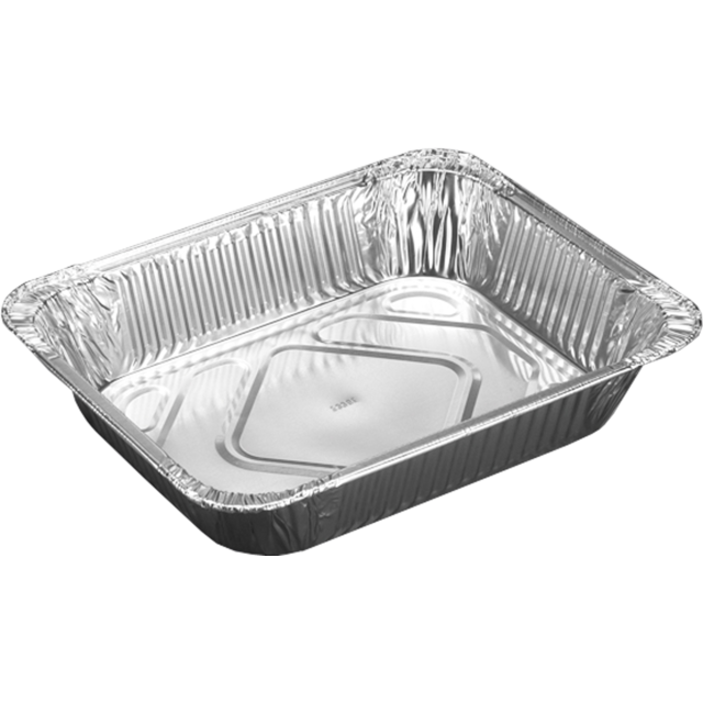 Container, Aluminum , 12x10x2.75inch, silver 1