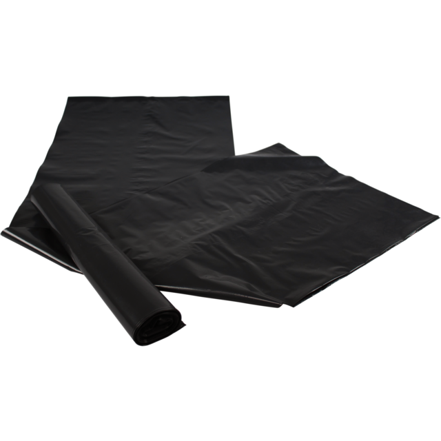 Refuse sack, LDPE, 38x42inch, black 1