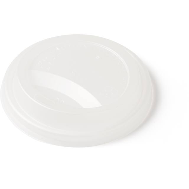 Lid, c-PLA, round, Ø90mm, white 1