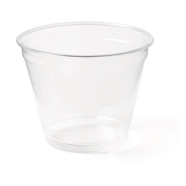 Cup, PET, 9oz, transparent 1