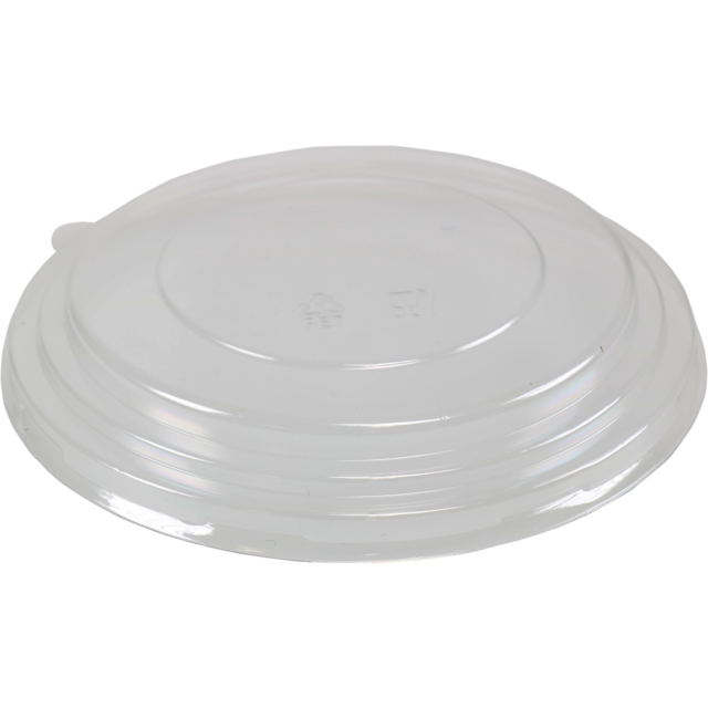 Lid, pET, round, Ø150mm, transparent 1