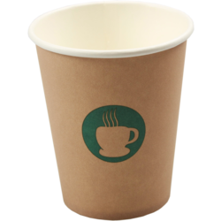 Single Walled Cup Paper 8oz 92mm
