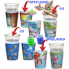 Ice-cream tub, incl. surprise mix, Emoji, Circus, Pirate and Winter, PP, 300ml, assorted