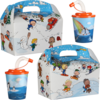 Kidsbox, Cardboard, Winter, met 3D drinks cup, 150x214x115mm