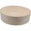 Biodore® Container, Falcata wood, Ø155mm, 45mm, natural