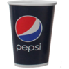 Pepsi, Cold cup, Karton/Coating, 300ml, 12oz, 119mm, blue/Red