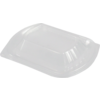 Lid, OPS, rectangular, transparent