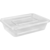 Container, plastic, 500ml, 172x120x43mm, transparent