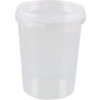Container, PP, 520ml, Ø9cm, transparent